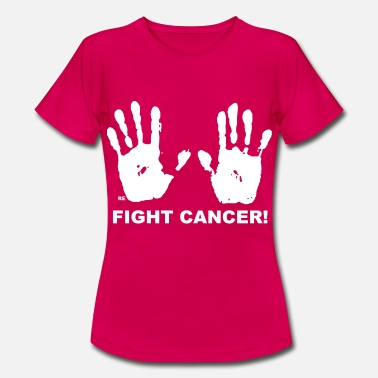 Fuck Fight Cancer Krebs Brustkrebs Frauen Titten - Women's T-Shirt