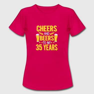 Funny 35th Birthday 35th birthday gift - Women's T-Shirt