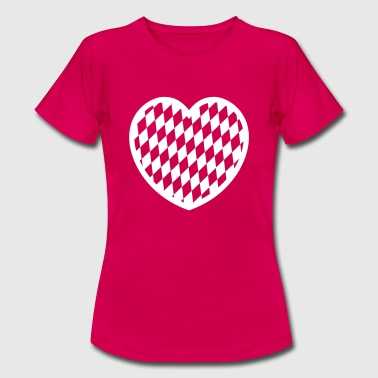 Plaid heart - Women's T-Shirt