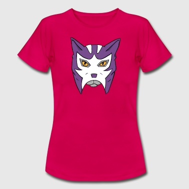Lucha Mask Cat with Lucha Libre mask - Luchagato - Women's T-Shirt