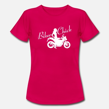 Naked Bike Biker Chick - Naked bike - Women's T-Shirt