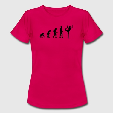 yoga Evolution - Vrouwen T-shirt
