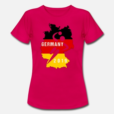 Handball Fan Handball Deutschland 2019 Fan - Frauen T-Shirt