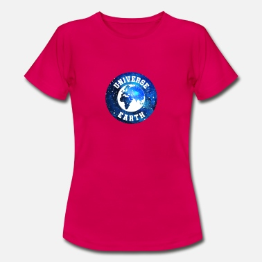 Earth Hour Universe Earth Logo - Univers de la Terre - T-shirt Femme