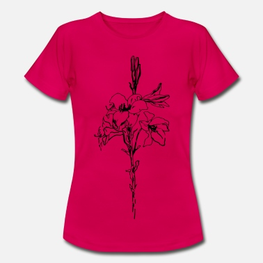 Lilly Lilly Flower - T-shirt dam