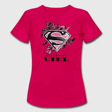 Superman 'S-Shield Girl' Women T-Shirt - Vrouwen T-shirt