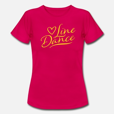 Line LOVE LINE DANCE - Women's T-Shirt
