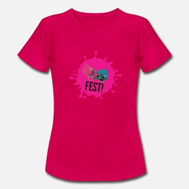 Feast Day Feast pink - Women's T-Shirt