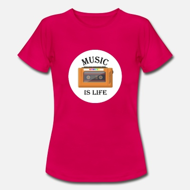Ibrahim Music is my life - Women's T-Shirt