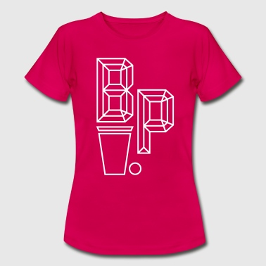 Beer Pong Logo III - Women's T-Shirt