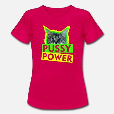 Black Pussy Pussy Power - Women's T-Shirt