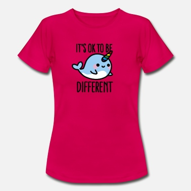 Wal It's ok to be different - Frauen T-Shirt