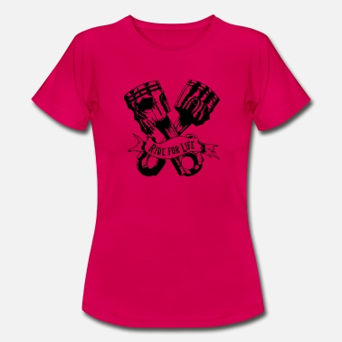 Streetfight Ride for Live Streetfighter - Frauen T-Shirt