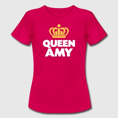 Queen amy name thing crown - Women's T-Shirt
