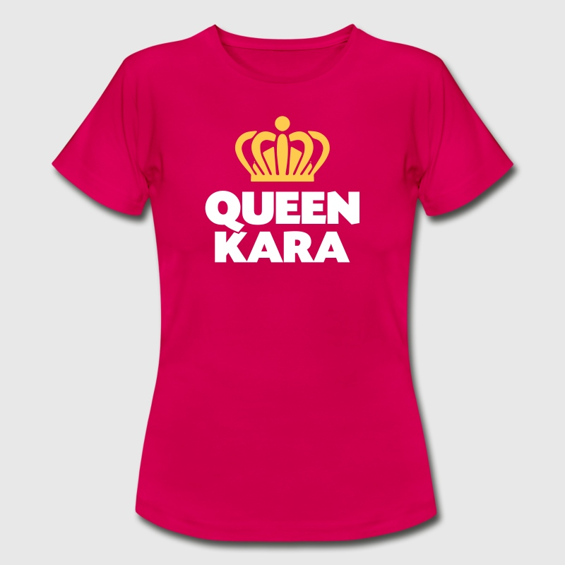 Queen kara name thing crown - Women's T-Shirt