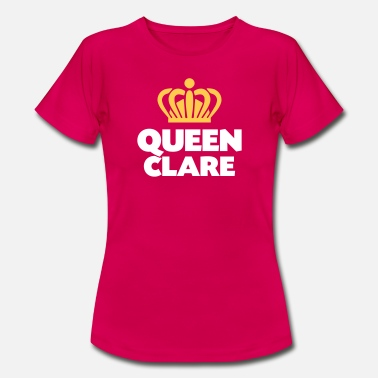Clare Queen clare name thing crown - Women's T-Shirt