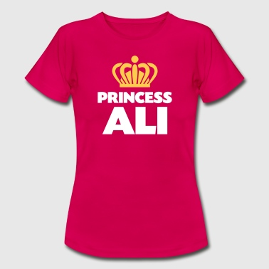 Ali Princess ali name thing crown - Women's T-Shirt