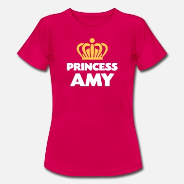 Amy Thing Princess amy name thing crown - Women's T-Shirt
