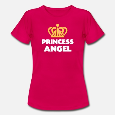 Princess Angel Princess angel name thing crown - Women's T-Shirt