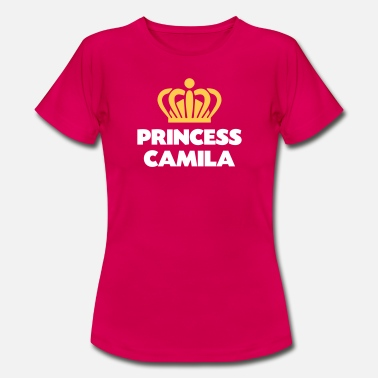 Camila Princess camila name thing crown - Women's T-Shirt