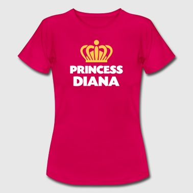 Princess diana name thing crown - Women's T-Shirt