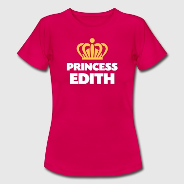 Princess edith name thing crown - Women's T-Shirt