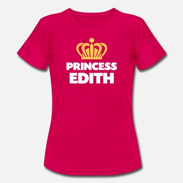 Edith Princess edith name thing crown - Women's T-Shirt