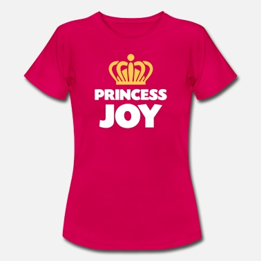 Joy Princess joy name thing crown - Women's T-Shirt