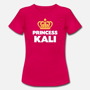 Kali Princess kali name thing crown - Women's T-Shirt