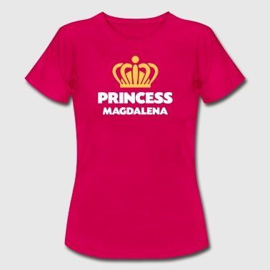 Magdalena Princess magdalena name thing crown - Women's T-Shirt