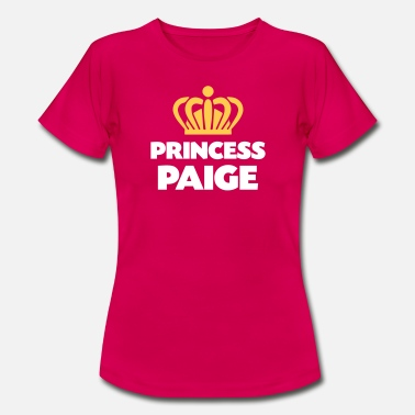 Paige Princess paige name thing crown - Women's T-Shirt