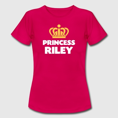 Princess riley name thing crown - Women's T-Shirt
