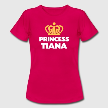 Tiana Princess tiana name thing crown - Women's T-Shirt
