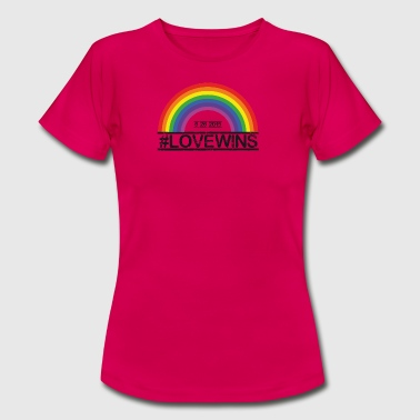 Love Wins - Frauen T-Shirt