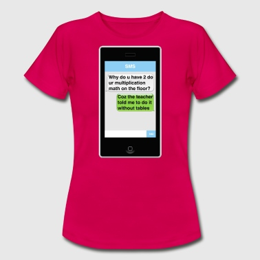 SMS - Math - Women's T-Shirt
