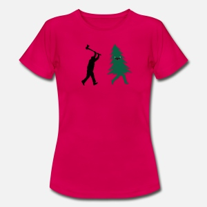 4f1184127 Funny Christmas Tree Hunted by lumberjack Humor Women's Hip Hugger ...