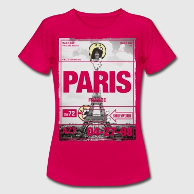 Smileyworld 'Paris Eiffel Tower' - T-shirt dam