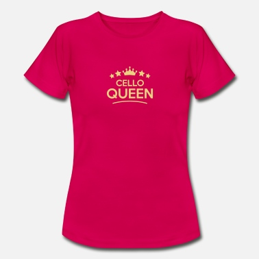 Cello cello queen stars - Women's T-Shirt