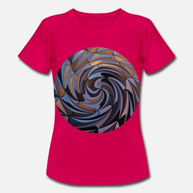 Twist Shapes Twisted, Shapes Twisted. - Women's T-Shirt