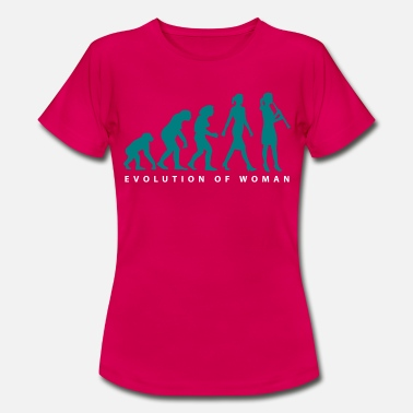 Klarinette Evolution Klarinette Spielerin - Frauen T-Shirt