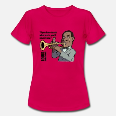 Armstrong Louis Armstrong - Women's T-Shirt