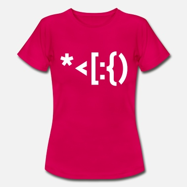 Punctuation Marks Santa from punctuation marks. - Women's T-Shirt