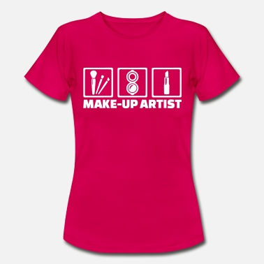 Pinsel Make-up Artist - Frauen T-Shirt
