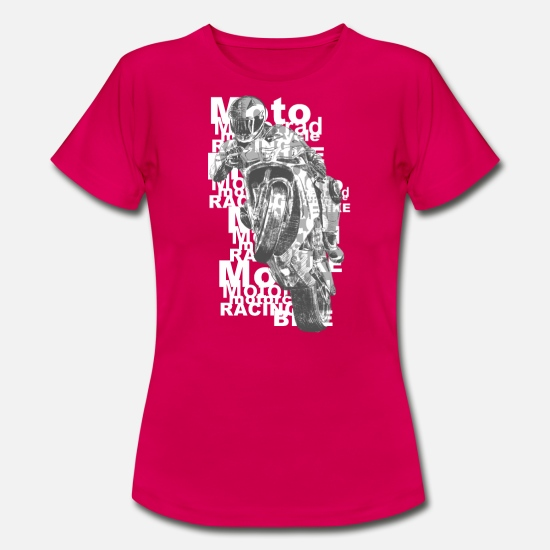 Motorcycle T-Shirts - motorcycle - Women's T-Shirt ruby red