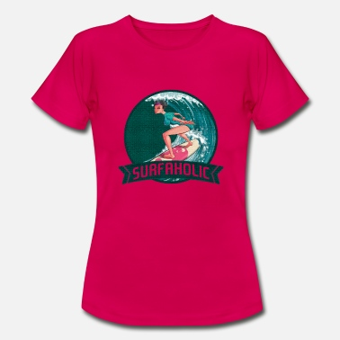 Shirtio Cool surfer-t-shirt - T-shirt dame