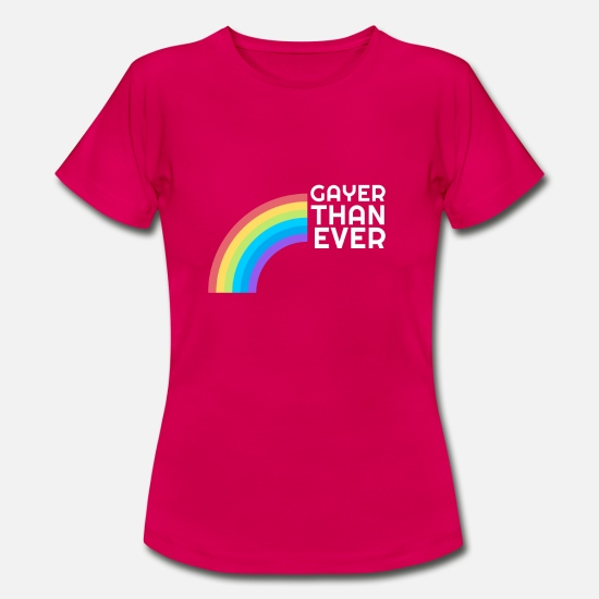 Human Rights T-Shirts - Gay rights are human rights! - Women's T-Shirt ruby red