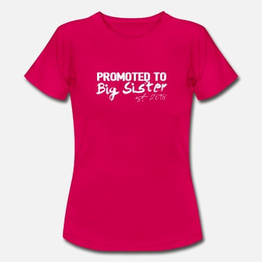 Older Gift for Kids Big Sister 2018 - Women's T-Shirt