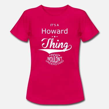 Howard Howard - T-shirt dam