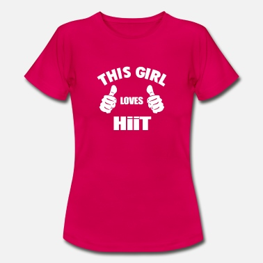 This Girl Loves HIIT Short Sleeve Unisex T-Shirt