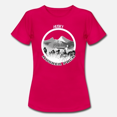 Bgl BGL-Musher-Husky - Frauen T-Shirt